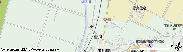 大分県玖珠郡九重町恵良375周辺の地図