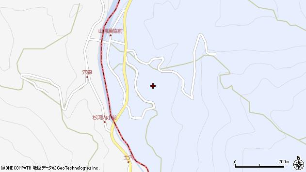 大分県玖珠郡玖珠町山浦812周辺の地図