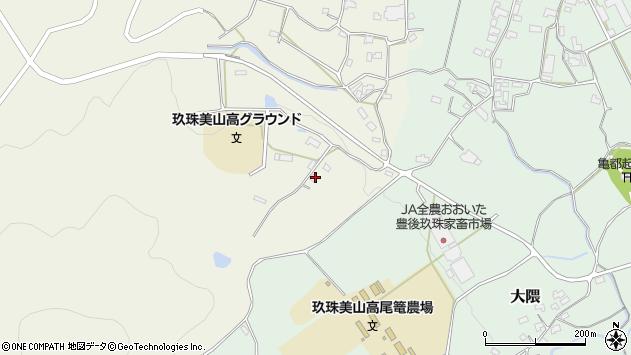大分県玖珠郡玖珠町山田1275周辺の地図