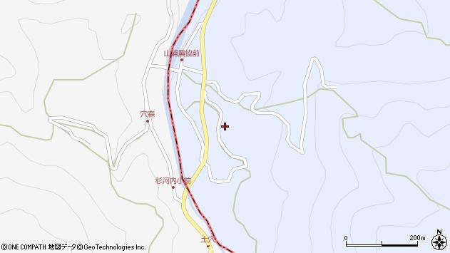 大分県玖珠郡玖珠町山浦772周辺の地図