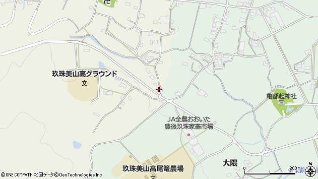 大分県玖珠郡玖珠町山田1213周辺の地図