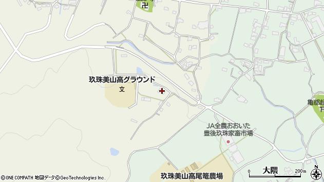大分県玖珠郡玖珠町山田1279周辺の地図