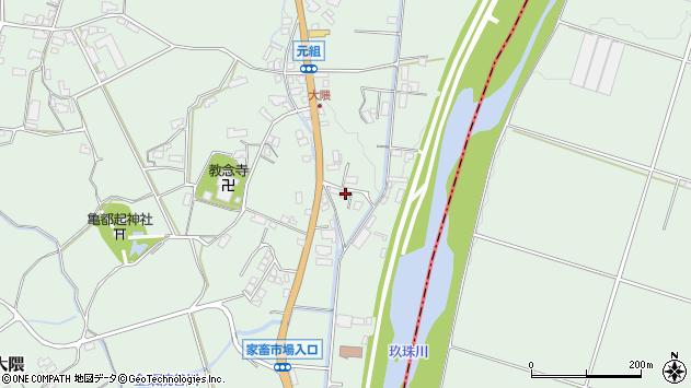 大分県玖珠郡玖珠町大隈1014周辺の地図