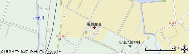 大分県玖珠郡九重町松木5353周辺の地図