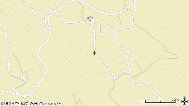 大分県玖珠郡九重町松木4222周辺の地図