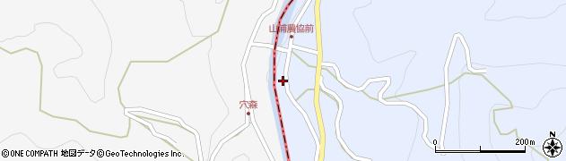 大分県玖珠郡玖珠町山浦794周辺の地図