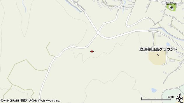 大分県玖珠郡玖珠町山田1408周辺の地図