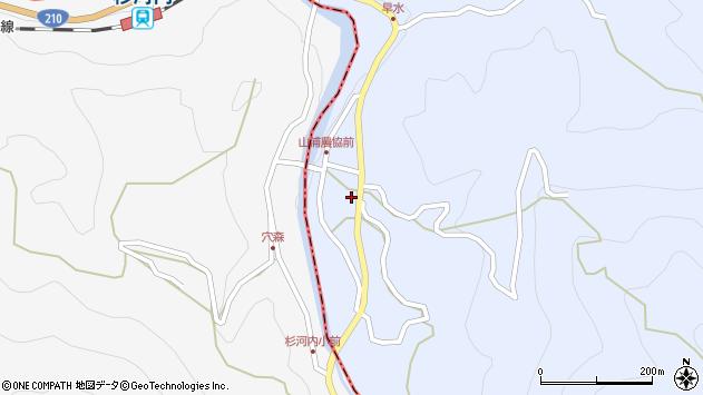 大分県玖珠郡玖珠町山浦787周辺の地図