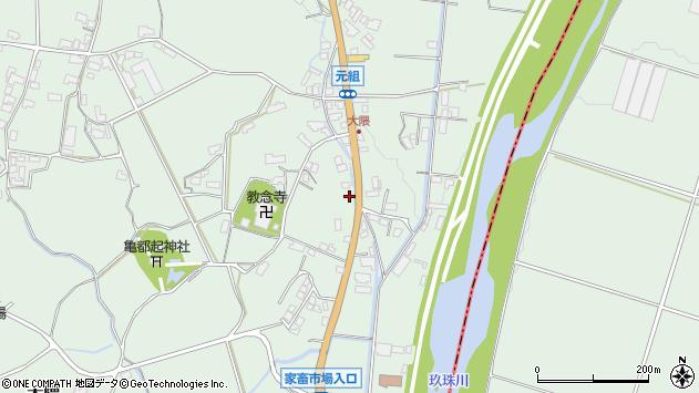 大分県玖珠郡玖珠町大隈1199周辺の地図