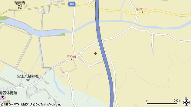 大分県玖珠郡九重町松木5258周辺の地図