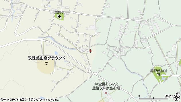 大分県玖珠郡玖珠町山田1192周辺の地図