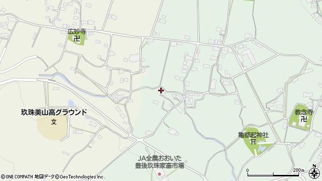 大分県玖珠郡玖珠町大隈1399周辺の地図