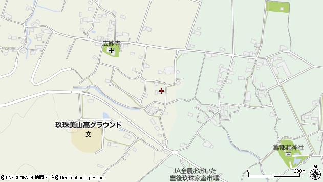 大分県玖珠郡玖珠町山田1183周辺の地図