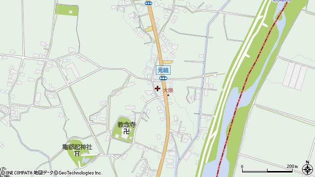 大分県玖珠郡玖珠町大隈985周辺の地図