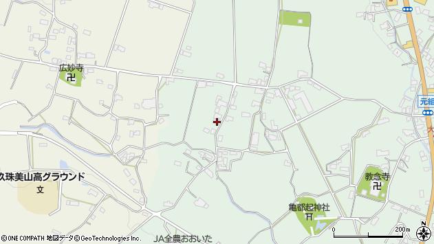 大分県玖珠郡玖珠町大隈1420周辺の地図