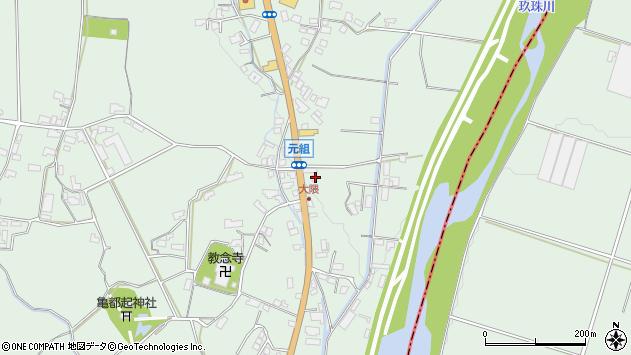 大分県玖珠郡玖珠町大隈989周辺の地図