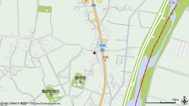 大分県玖珠郡玖珠町大隈1272周辺の地図