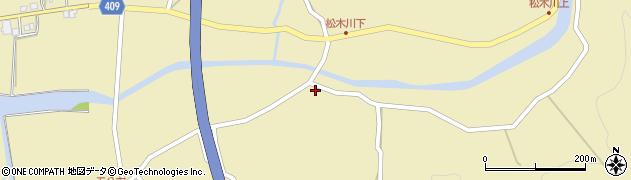 大分県玖珠郡九重町松木5160周辺の地図