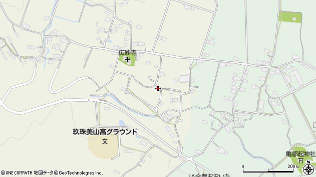 大分県玖珠郡玖珠町山田1172周辺の地図