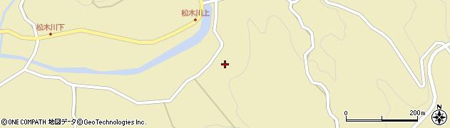 大分県玖珠郡九重町松木4904周辺の地図