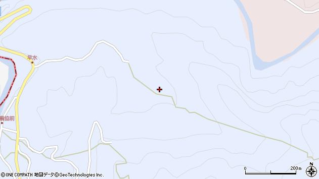 大分県玖珠郡玖珠町山浦535周辺の地図