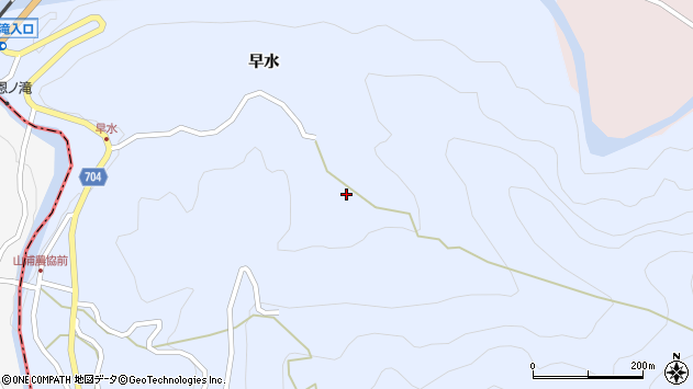 大分県玖珠郡玖珠町山浦545周辺の地図