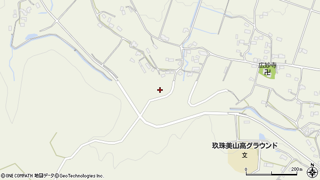 大分県玖珠郡玖珠町山田1047周辺の地図