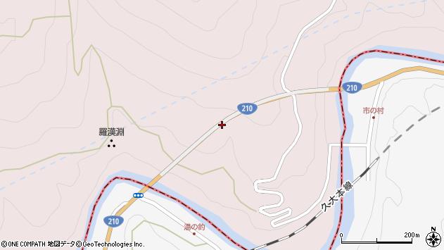 大分県玖珠郡玖珠町戸畑市ノ村周辺の地図