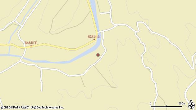 大分県玖珠郡九重町松木4907周辺の地図