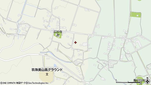 大分県玖珠郡玖珠町山田1166周辺の地図