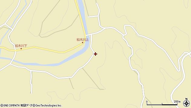 大分県玖珠郡九重町松木4889周辺の地図