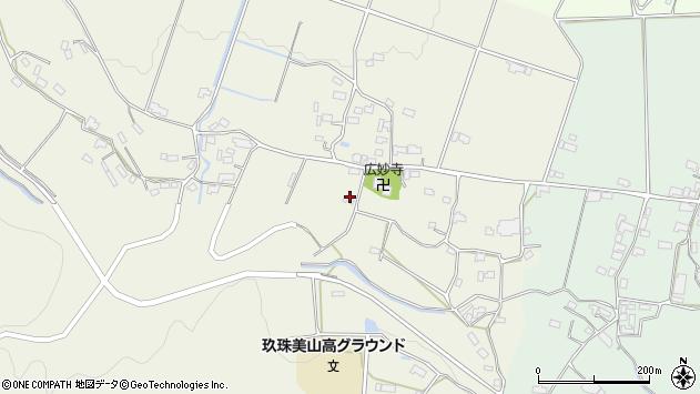 大分県玖珠郡玖珠町山田1992周辺の地図