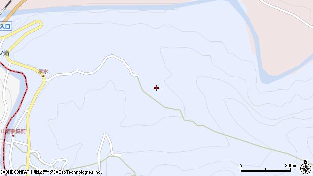 大分県玖珠郡玖珠町山浦465周辺の地図