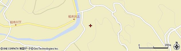 大分県玖珠郡九重町松木4863周辺の地図