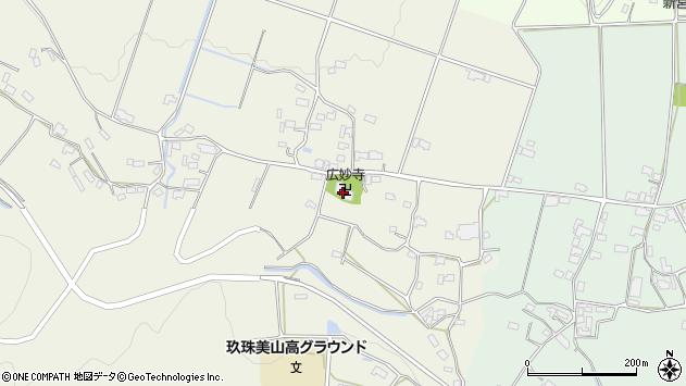 大分県玖珠郡玖珠町山田721周辺の地図