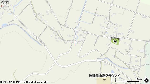 大分県玖珠郡玖珠町山田1092周辺の地図