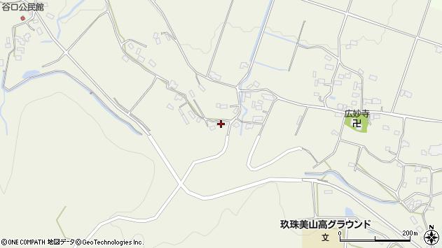 大分県玖珠郡玖珠町山田1088周辺の地図