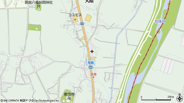 大分県玖珠郡玖珠町大隈981周辺の地図