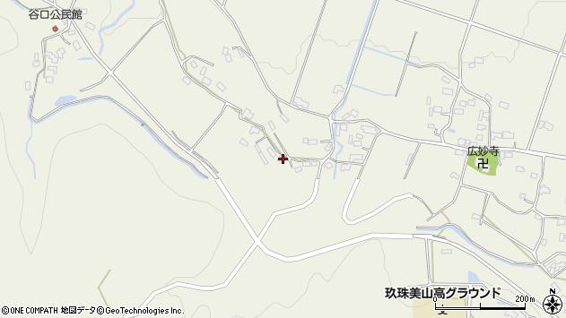 大分県玖珠郡玖珠町山田1086周辺の地図