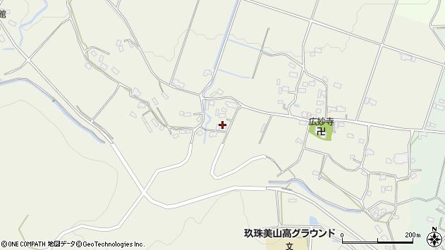 大分県玖珠郡玖珠町山田1100周辺の地図