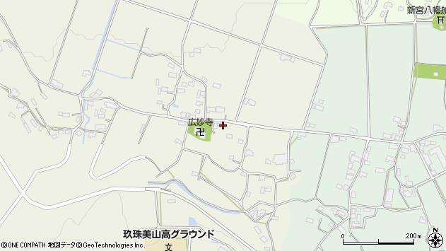 大分県玖珠郡玖珠町山田1152周辺の地図