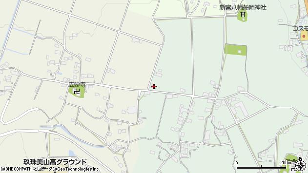 大分県玖珠郡玖珠町大隈1334周辺の地図