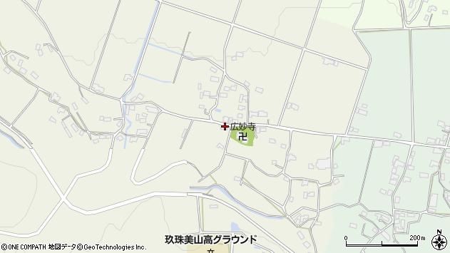 大分県玖珠郡玖珠町山田1125周辺の地図