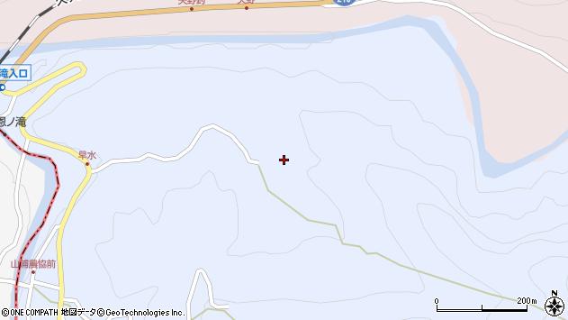 大分県玖珠郡玖珠町山浦460周辺の地図