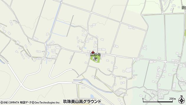 大分県玖珠郡玖珠町山田709周辺の地図