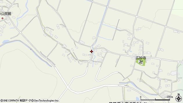 大分県玖珠郡玖珠町山田1075周辺の地図