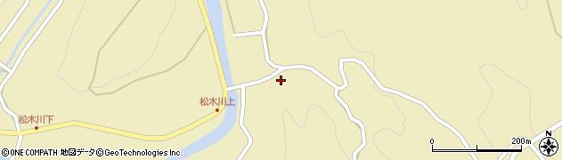 大分県玖珠郡九重町松木4825周辺の地図