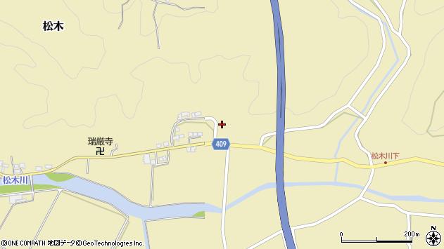 大分県玖珠郡九重町松木730周辺の地図