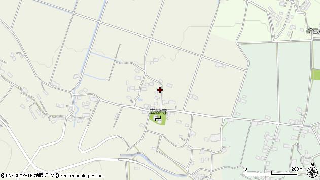 大分県玖珠郡玖珠町山田701周辺の地図
