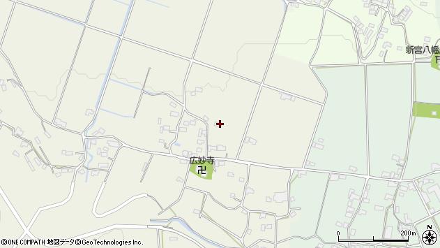 大分県玖珠郡玖珠町山田645周辺の地図